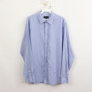 Banana Republic Mens Large Striped Slim Fit Shirt